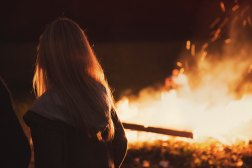 Wild Women Tribe workshop campfire