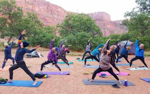 sunrise yoga_Moab